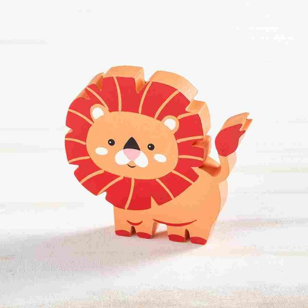 Ξύλινο Διακοσμητικό Λιοντάρι.