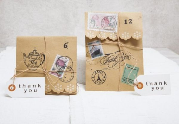 vintage φάκελοι για προσκλητήρια