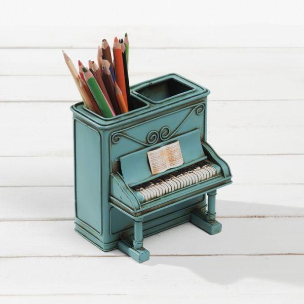 Διακοσμητικό πιάνο μολυβοθήκη