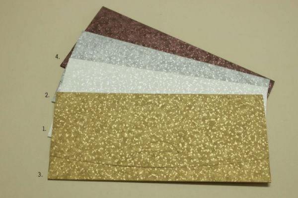 Φάκελος προσκλητήριο γάμου Καλούπι 09 χαρτί SAND Διαστάσεις: 23X10cm