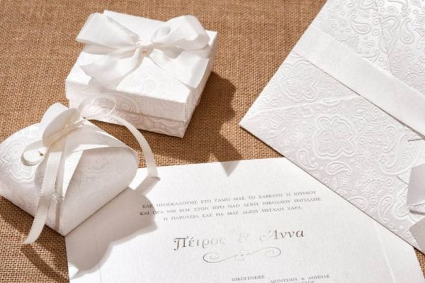 ρομαντικά προσκλητήρια σε στιλ δαντέλα