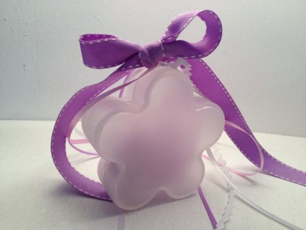 κουτάκι λουλουδάκι μπομπονιέρα βάπτισης