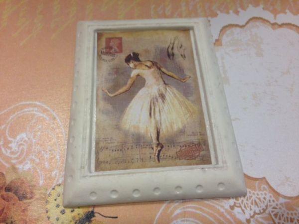 Μπομπονιέρα μπαλαρίνα - μπαλέτο vintage ballerina μπομπονιέρες καδρακια από γύψο (δικά μας καλουπια) γίνονται αλλαγές στις μακέτες κ τα χρώματα