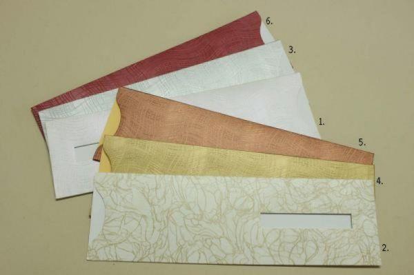Φάκελος κουμπωτός προσκλητήριο γάμου Κωδικός: 16 διαστάσεις 29Χ9/032 χαρτί WAVE