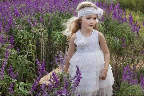 121.102.6970 Φόρεμα Βάπτισης Baby Bloom