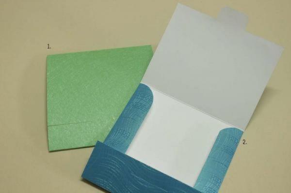 φάκελος για προσκλητήριο βάπτισης όμορφα χρώματα πολυτελείας χαρτιά