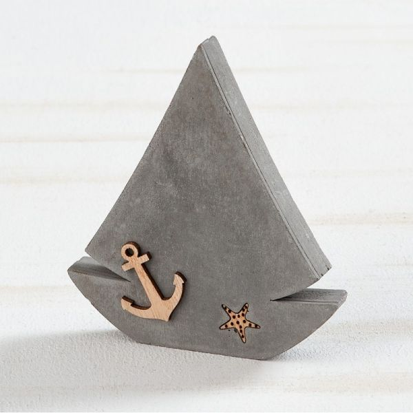 Τσιμεντένιο Διακοσμητικό Καράβι