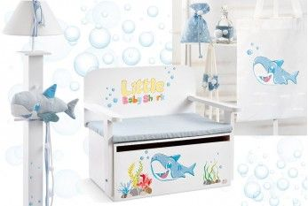 Baby Shark σετ βάπτισης