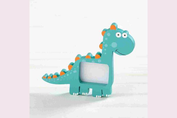 Ξύλινη Κορνίζα Δεινόσαυρου.