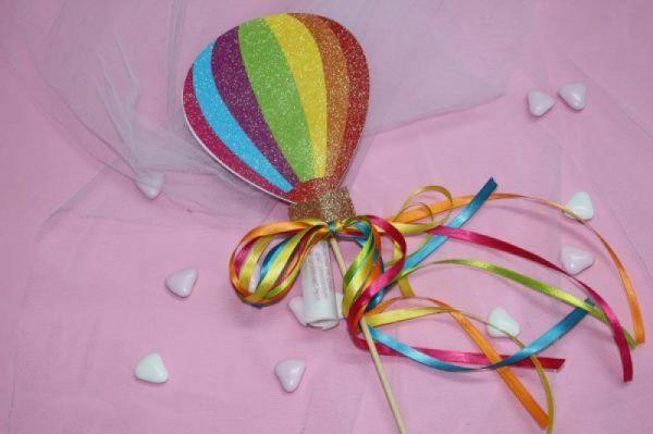 προσκλητήριο στικ αερόστατο βάπτισης