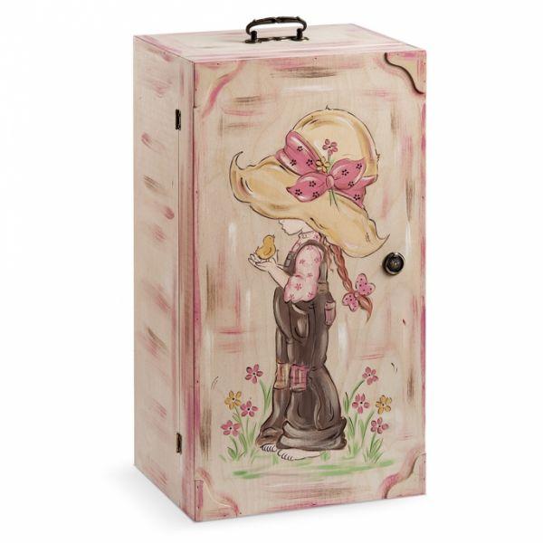 Κουτί Βάπτισης ντουλάπα vintage SARAH KAY
