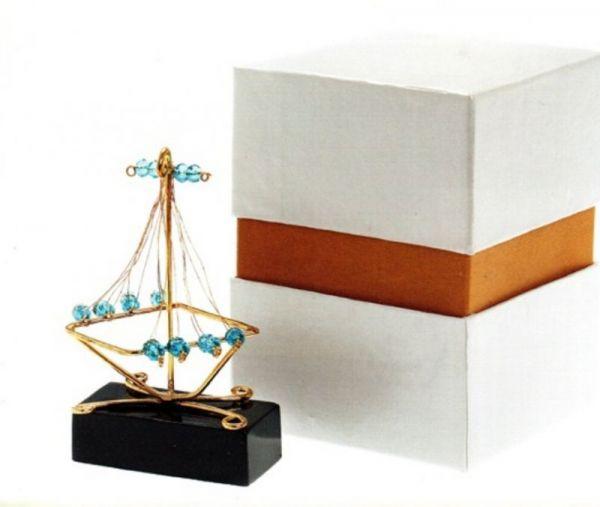 μπομπονιέρα καράβι για γάμο και βάπτιση
