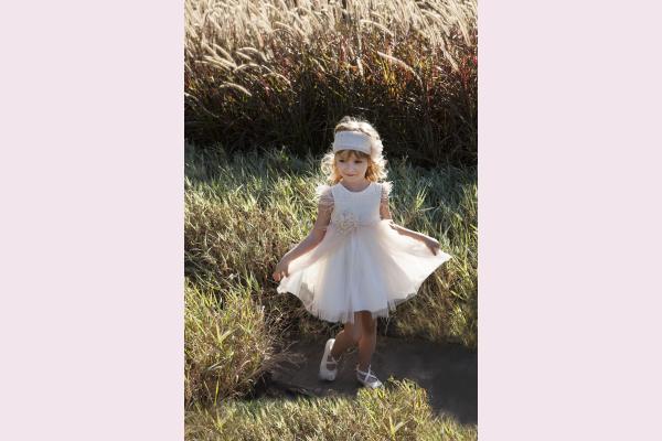 121.111.6580 Φόρεμα βάπτισης Baby Bloom