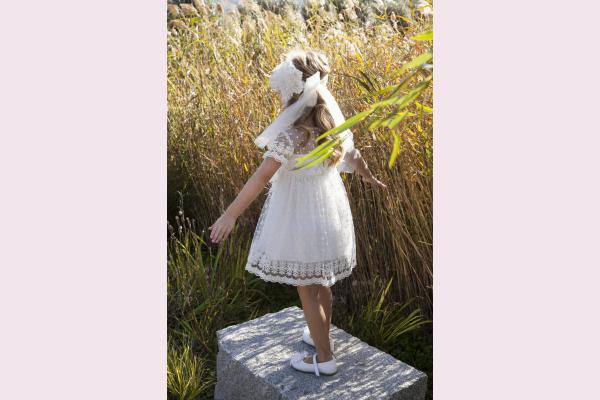 121.108.6580 Φόρεμα βάπτισης Baby Bloom